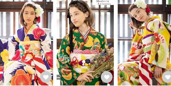 京都着物レンタル夢館の振袖