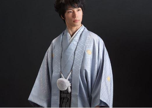 京都着物レンタル【夢館】の男性用紋付き袴